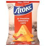 Чипсы Люкс картофельные со вкусом пряного сыра 133г