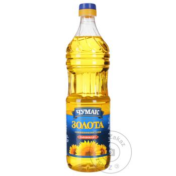 Chumak Sunflower Refined Oil 900ml