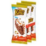 Бисквит Kinder Maxi King с молочно-карамельной начинкой в молочном шоколаде с лесными орехами 3шт 35г