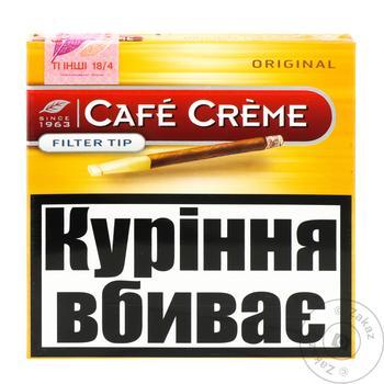 Сигары Cafe Creme filter tip origin - купить, цены на СитиМаркет - фото 1