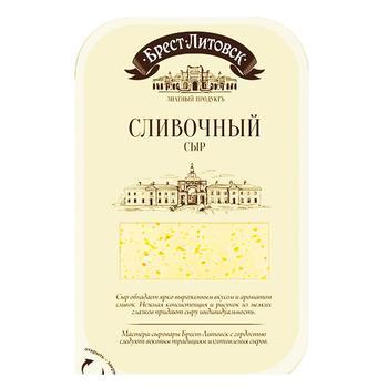Brest-Lytovsk Creamy Sliced Cheese 50% 150g