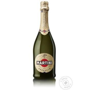 Ігристе вино Martini Prosecco 11,5% 0,75л - купити, ціни на Novus - фото 1