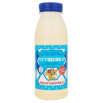 Продукт сгущенный Полтавочка с сахаром 8,5% 380г - купить, цены на Таврия В - фото 1