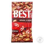 Арахіс Best Nuts смажений зі смаком бекону 50г