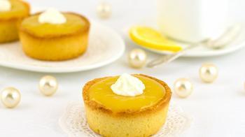 Тарталетки з лимонним кремом