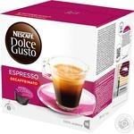 Кофе Nescafe Dolce Gusto Эспрессо Декафеинато в капсулах 16*6г