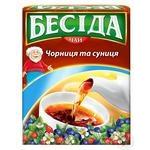 Tea Beseda with strawberries black 80g