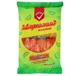 Мармелад Varto Дольки с ароматом лимона и апельсина 240г