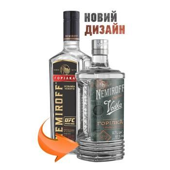 Nemiroff Special Vodka 40% 0.7l - buy, prices for Novus - image 2