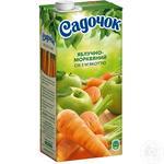 Sadochok apples and carrots juice 0,95l