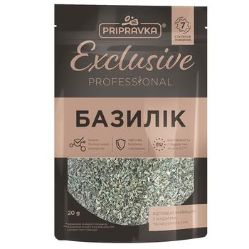 Pripravka Exclusive Professional basil spices 20g - buy, prices for Auchan - photo 1