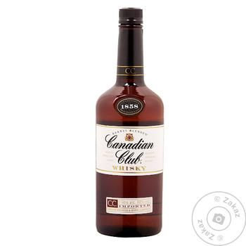 Canadian Club Wiskey 40% 1l - buy, prices for Novus - image 1