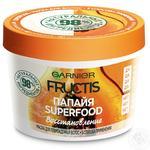 Маска Garnier Fructis Superfood Папайя для поврежденных волос 390мл
