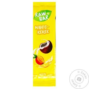 Батончик Sunfill Манго-Кокос без цукру та глютену 35г - купити, ціни на Ашан - фото 3