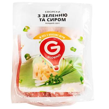 Globino Sausages with Greens and Cheese First Grade Weighable - buy, prices for Furshet - image 1