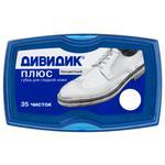 Dividik Plus Sponge for Shoes Colorless