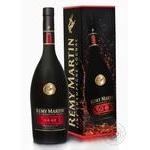 Remy Martin V.S.O.P. Cognac 40% set in a box of 0.7l + 2 glasses