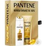 Набір подарунковий PANTENE Шмп Інтенсивне відновлення 250мл+Блз-ополіск3MinuteMiracle Інтенсивне відновлення 200мл