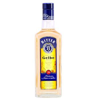 Настойка Bitter Gelbe Ликерная на травах 38% 0,5л