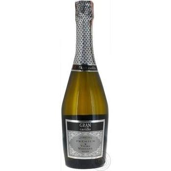 Sparkling wine Gran castillo white 10.5% 750ml glass bottle Spain