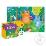 DoDo Puzzle-mini Teddy and his Friends 35 elements - buy, prices for MegaMarket - image 1