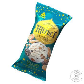 Мороженое Рудь Щербет султана в вафельном стаканчике 70г - купить, цены на Фуршет - фото 1