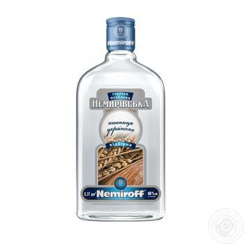 Водка Nemiroff  Немировская пшенична українська отборная 40% 0,5л - купить, цены на Novus - фото 1