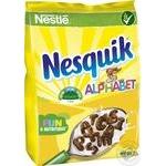 Завтрак готовый Nesquik Alphabet 460г