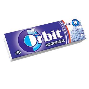 Orbit Winterfresh Sugar-Free Chewing Gum With Menthol Flavor