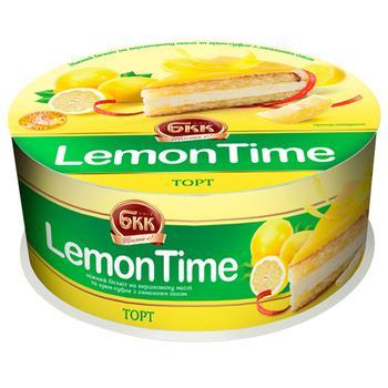 Торт БКК LemonTime 850г