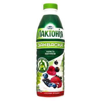 Lactonia zakwaska dairy yogurt  drink with wild berry 1,5% 870г - buy, prices for CityMarket - photo 1