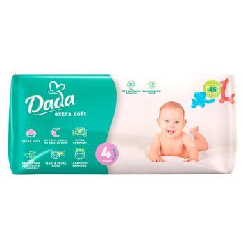 Подгузники Dada №4 для детей 7-18кг 46шт