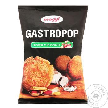 Снек Mogyi Gastropop попкорн с орехами 80г