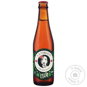 La Virgen IPA Light Unfiltered Beer 6,5% 0,33l