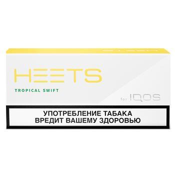 Стік тютюновмісний Heets Tropical Swift - купити, ціни на CітіМаркет - фото 1