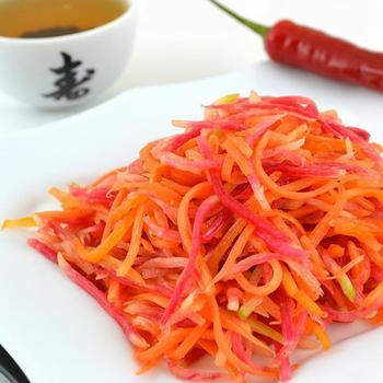 Корейський салат із редьки