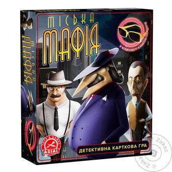 Карточная игра Городская мафия - купить, цены на Novus - фото 1