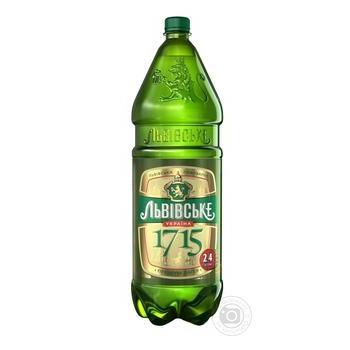 Пиво Львовское 1715 2,4л