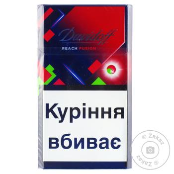 Сигареты Davidoff Reach Fusion - купить, цены на Восторг - фото 1