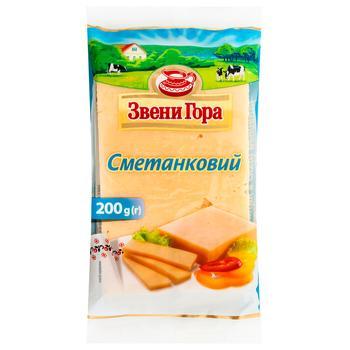 Сыр Звени Гора Сметанковый 50% 200г