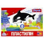 Пластилін 1Вересня Zoo Land 8 кол. 160 г 540587