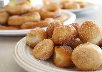 Пончики з повидлом