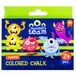 Yes Monsters Round Colored Chalk 24pcs