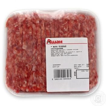 Фарш телячий - купити, ціни на Ашан - фото 1