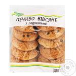 Kozhen Den With Raisins Polisyanochka Oat Cookies 300g