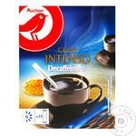 Кофе Ашан растворимый сублимированный без кофеина 250г
