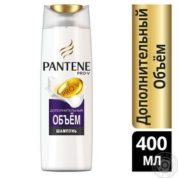 Шампунь Pantene Pro-V Дополнительный объем для тонких волос 400мл - купить, цены на Метро - фото 2
