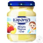 Karapuz Apple, Peach and Cheese Puree 200g