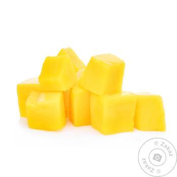 Манго замороженное кубики 20*20мм