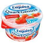 Десерт Exquisa сирний натуральний з полуницею 0,2% 500г